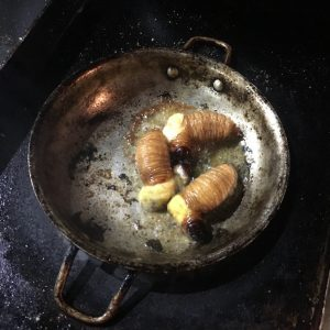 Fried Maggot