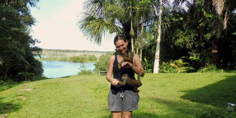 Meeting the monkeys of Alto del Aguila // Colombian Amazonas