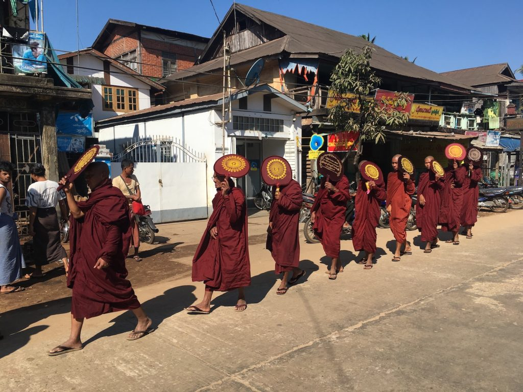 Myanmar. Bago Monks