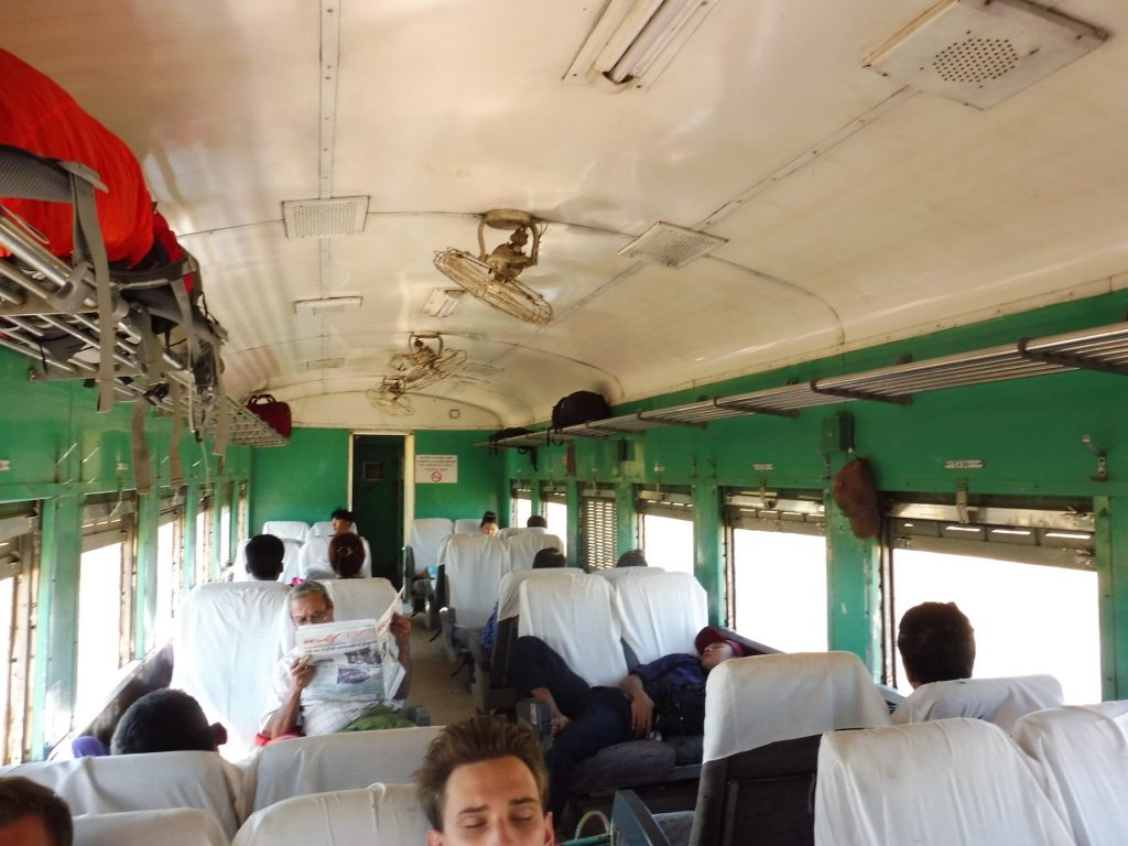 Myanmar. Bago Train