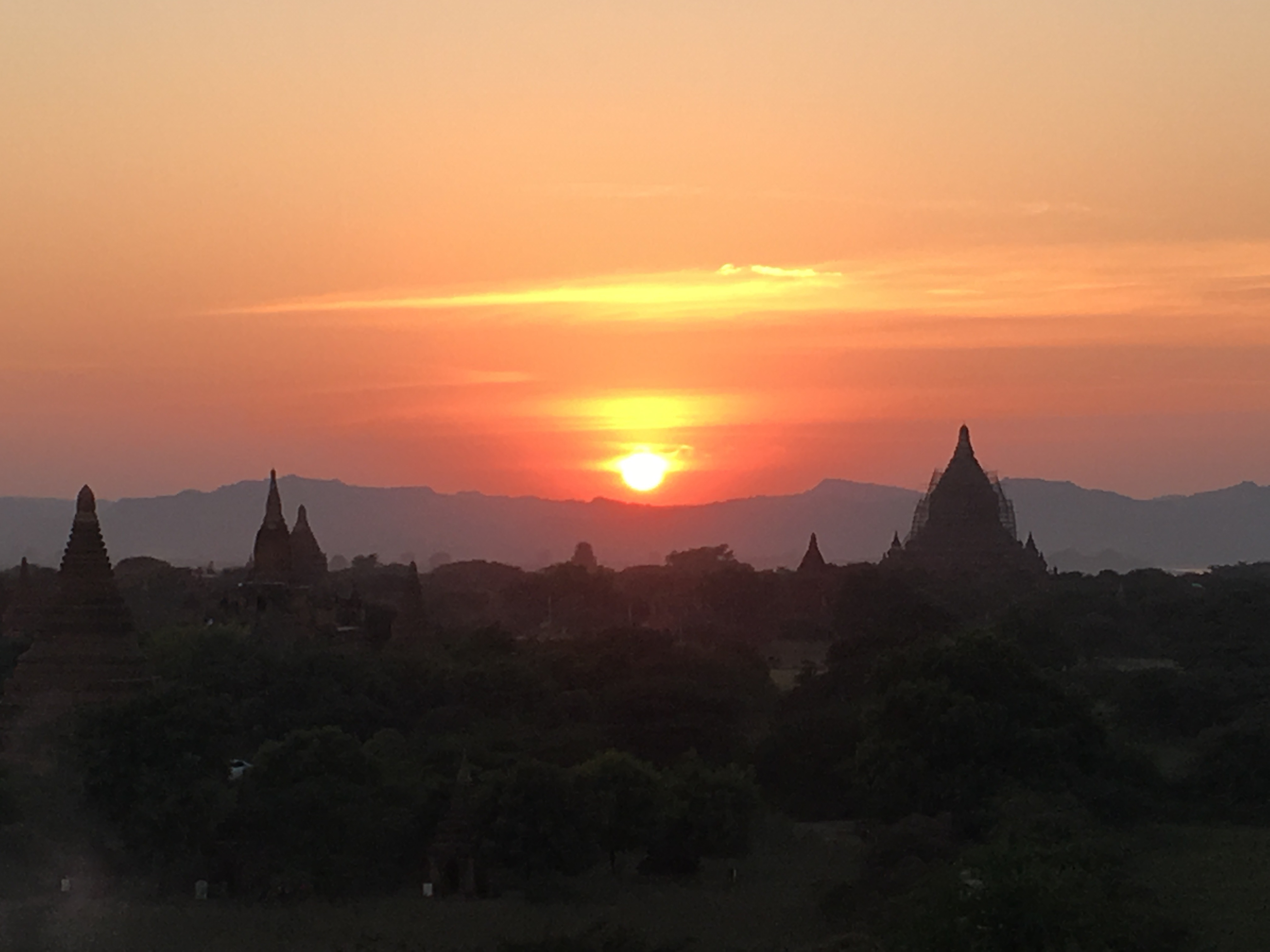 Myanmar. Shwe San Daw Pagoda