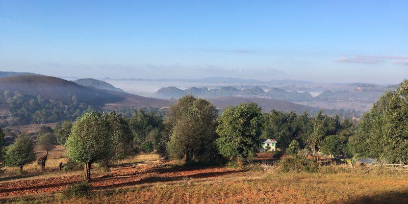 Trekking from Kalaw to Inle Lake // Myanmar