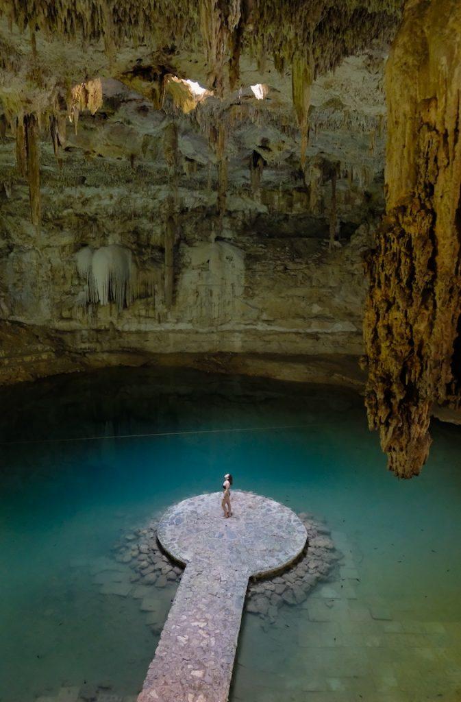 Cenote Suytun, Mexico